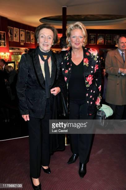 Princesse Alix Napoleon and Princesse Beatrice de BourbonSiciles attend the Gala Care France held at Montparnasse theater on Feb 2 2011 France