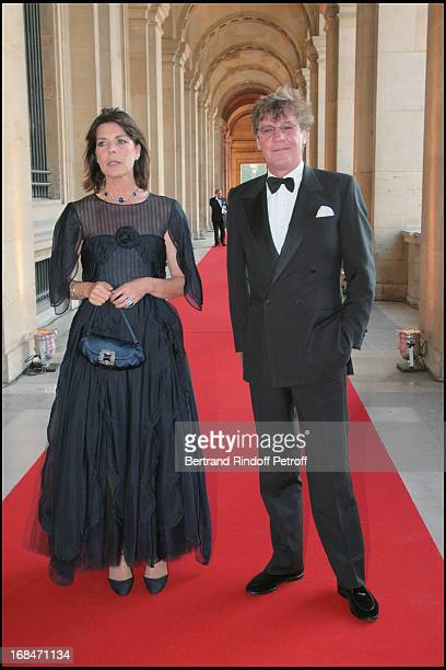 Princesse Caroline De Hanovre and Prince Ernst August De Hanovre at Liaisons Au Louvre Fundraiser At Galerie Borghese Daru At The Louvre In Paris