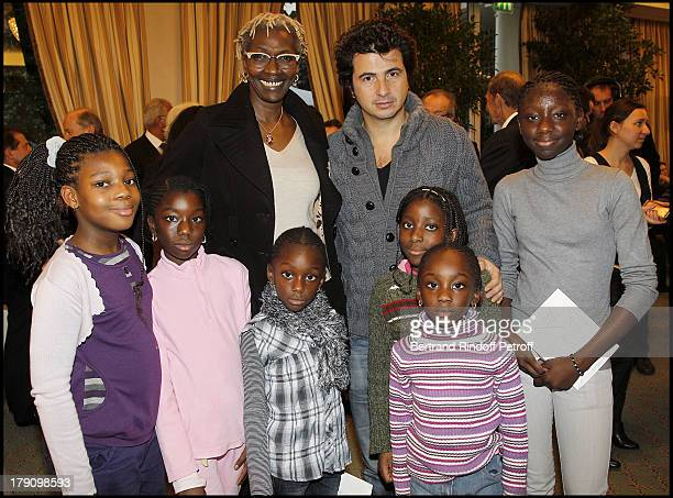 Princesse Esther Kamatari and David Marouani at The Galette Des Rois Charity Function At Bristol In Paris Organised By Cira To Benefit Children Of...