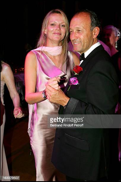 Princesse Helene De Yougoslavie and husband Thierry Gaubert at The Grand Bal De Deauville Held At Casino De Deauville In Aid Of Care International