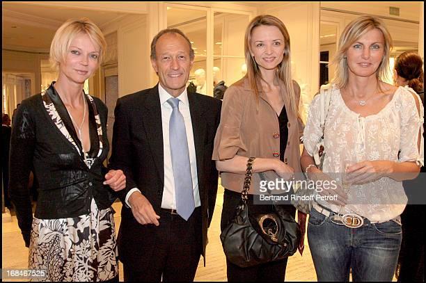 Princesse Helene De Yougoslavie Thierry Gaubert Delphine Valarino Gancia Nicola Takieddine at Dior Presents The Diorphone At The Dior Boutique Avenue...
