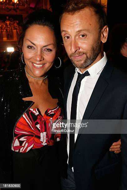Princesse Hermine de Clermont Tonnerre and Pierre Souchon attend the 'IFRAD' Gala at Cirque D'Hiver In Paris on September 25 2013 in Paris France