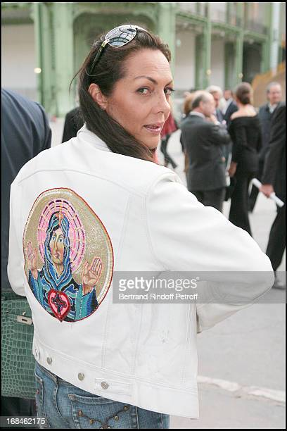 Princesse Hermine De Clermont Tonnerre at Private Viewing Of The Richard Serra Exhibition Promenade Monumeta 2008 At Grand Palais