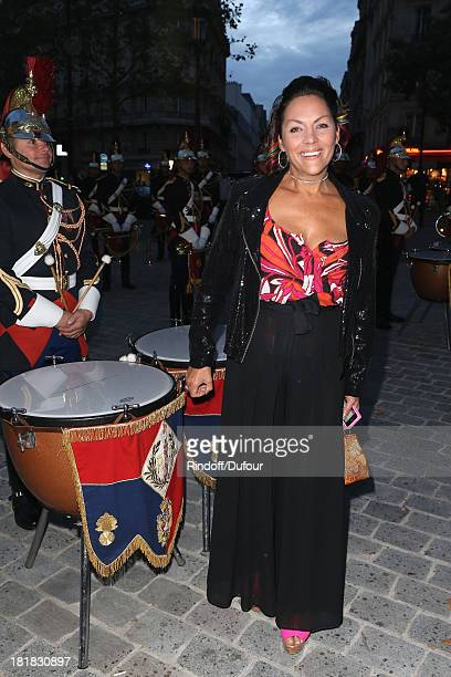 Princesse Hermine de Clermont Tonnerre attends the 'IFRAD' Gala at Cirque D'Hiver In Paris on September 25 2013 in Paris France