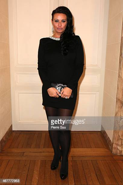 Princesse Kasia Al Thani attend 'The Children for Peace' Gala at Cercle Interallie on February 7 2014 in Paris France