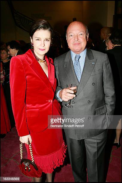 Princesse Nesrine Tousoun D' Egypte and Baron Emmanuel Reille at the 12th Gala Performance Musique Contre L' Oubli In Aid Of Amnesty International At...