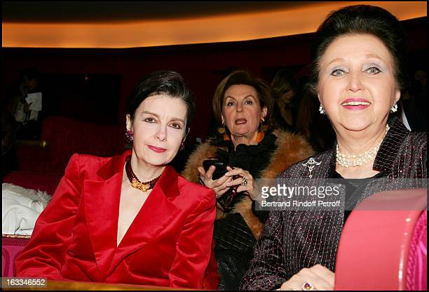Princesse Nesrine Toussoun D' Egypte and Duchesse Sophie De Wurttemberg at the 12th Gala Performance Musique Contre L' Oubli In Aid Of Amnesty...
