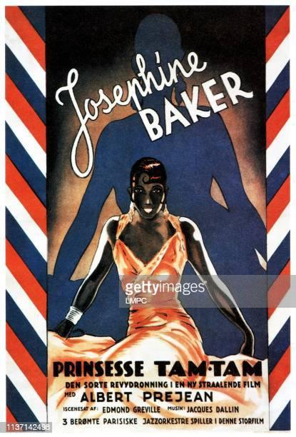 Princesse Tam Tam poster Josephine Baker on foreign poster art 1935