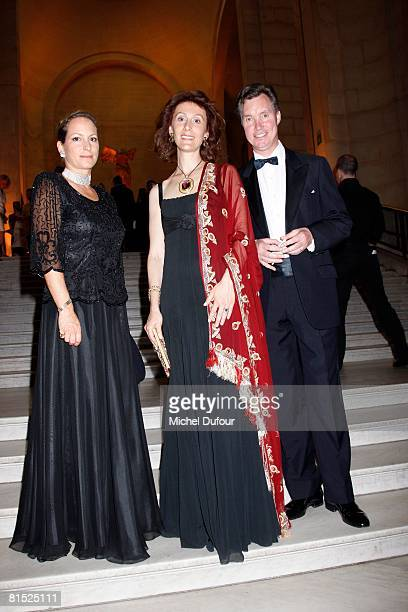 Princesse Zahra the Aga Khan and Princess Guillaume of Luxembourg attend a party hosted by Becca Cason Thrash to honour The American Friends of The...