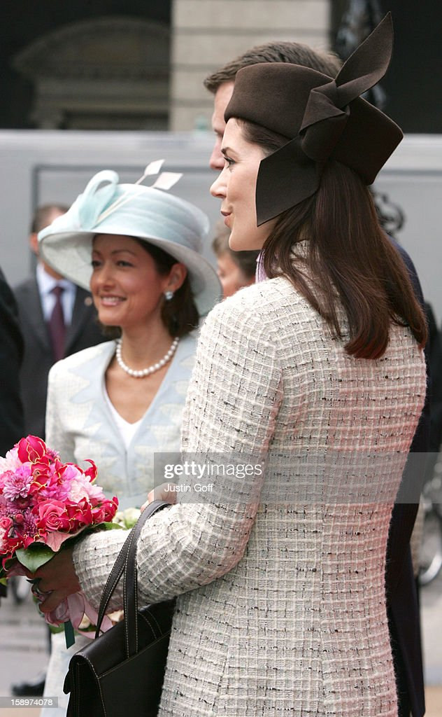 Danish Royal Family Attend Opening Of Parliament : News Photo
