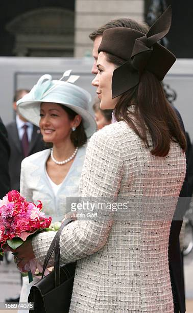Princesss Alexandra Crown Princess Mary Of Denmark Attend The Opening Of The Danish Parliament In Copenhagen