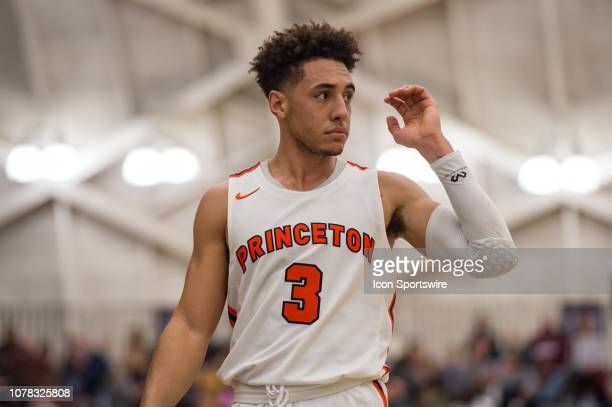 Princeton Tigers guard Devin Cannady during the college basketball game between the Penn Quakers and Princeton Tigers on January 5 2019 at Jadwin...