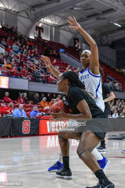 Princeton Tigers guard Sydney Jordan cuts to the basket during the 2019 Div 1 Women's Championship First Round college basketball game between the...