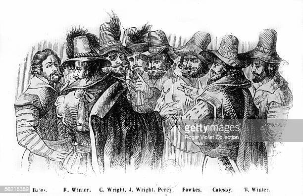 Principal accuseds of the Gunpowder plot. London, 1605.