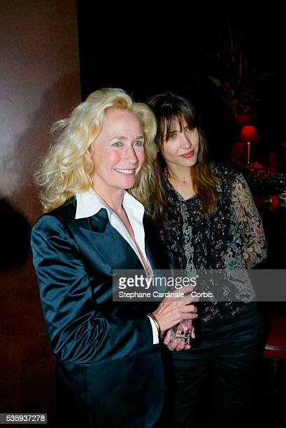 Principal actresses from the film Sophie Marceau and Brigitte Fossey
