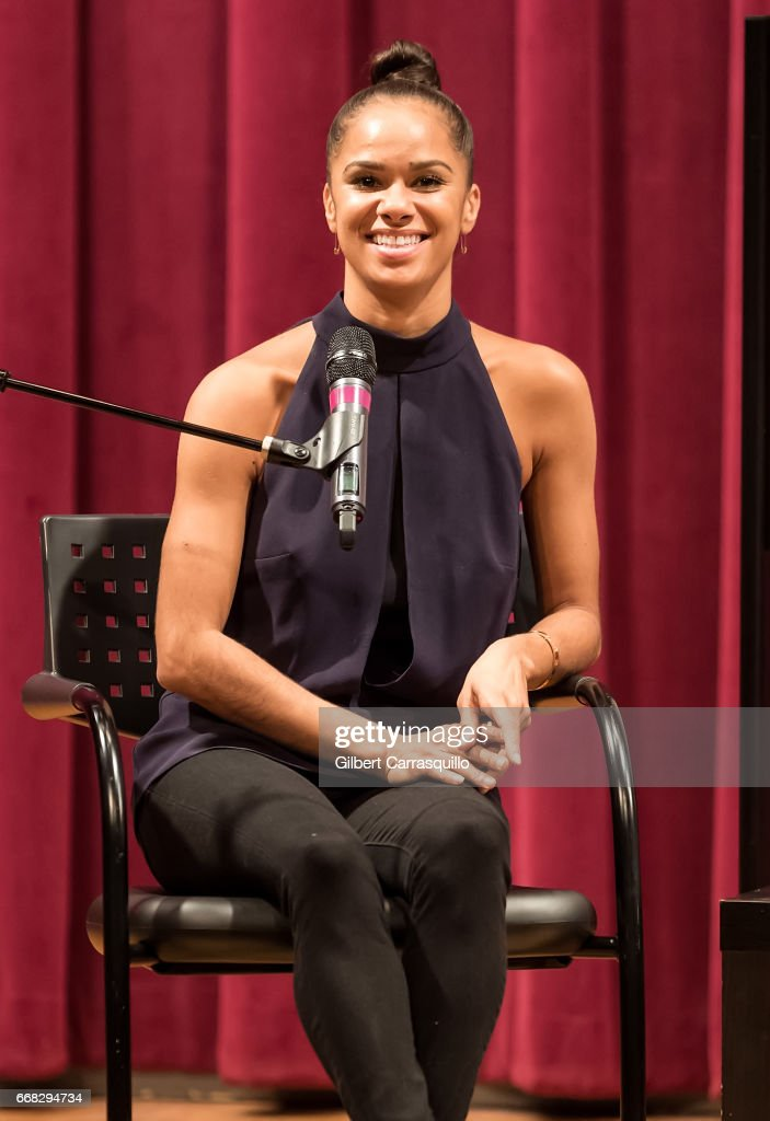 """Misty Copeland Signs Copies Of """"Ballerina Body: Dancing And Eating Your Way To A Leaner, Stronger More Graceful You"""""""