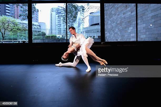 Principal Artists Amber Scott and Adam Bull perform an except from David McAllister's The Sleeping Beauty as The Australian Ballet 2015 Year of...