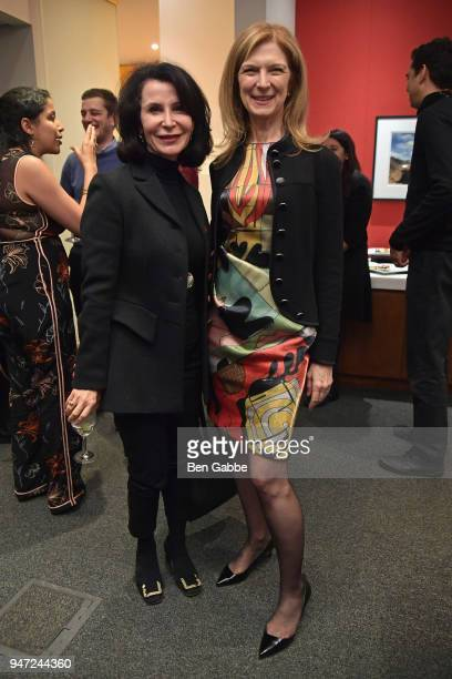 Principal at Bloomberg Associates Katherine Oliver and CEO of the Academy of Motion Picture Arts and Sciences Dawn Hudson attends the Academy Museum...