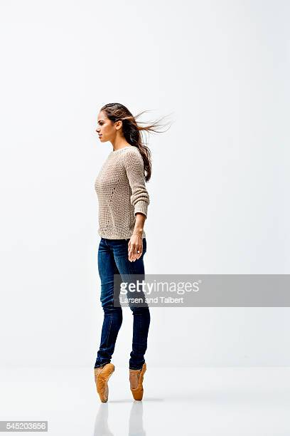 Principal ballerina Misty Copeland is photographed for Guideposts Magazine on November 3 2015 in New York City