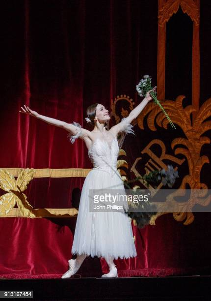 Principal dancer Marianela Nunez celebrates 20 years with The Royal Ballet at The Royal Opera House on February 1 2018 in London England