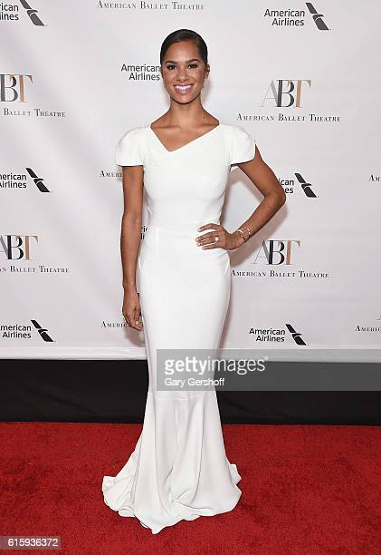 Principal Dancer Misty Copeland attends the 2016 American Ballet Theatre Fall Gala at David H Koch Theater at Lincoln Center on October 20 2016 in...