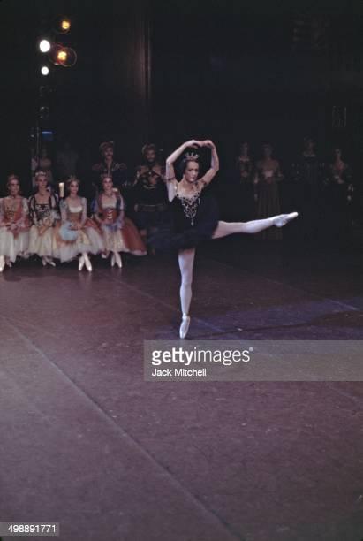 Principal dancer Toni Lander performs in the American Ballet Theatre's production of 'Swan Lake,' 1968.