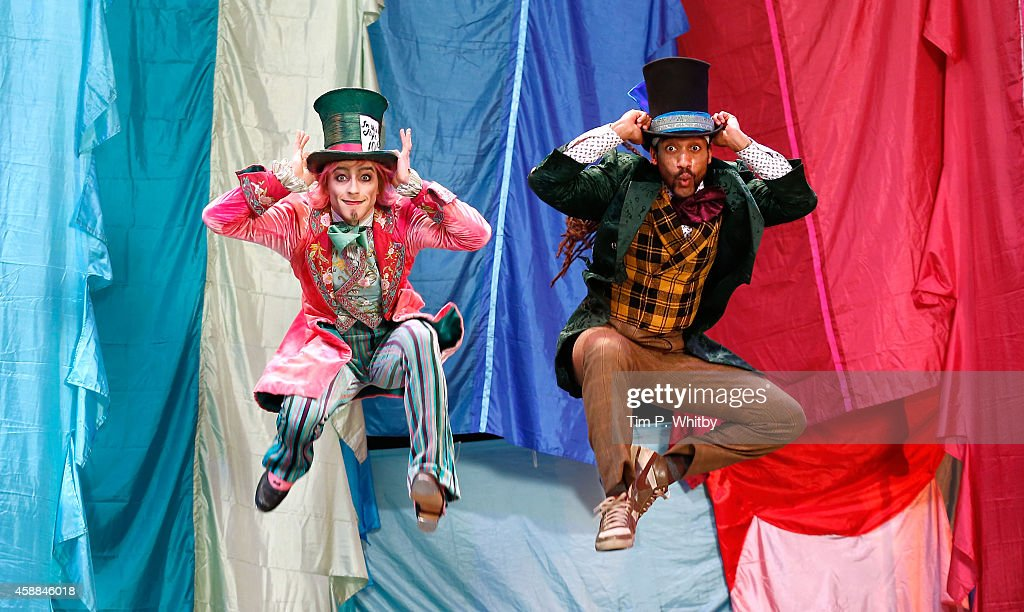 Royal Ballet: Hip Hop Vs Ballet: 2 Mad Hatters Dance Off Photocall : News Photo