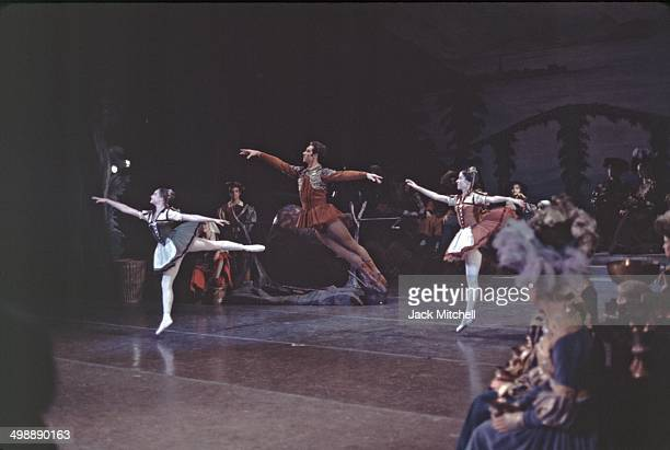 Principal dancers Toni Lander and Royes Fernandez perform in the American Ballet Theatre's production of 'Swan Lake,' 1968.