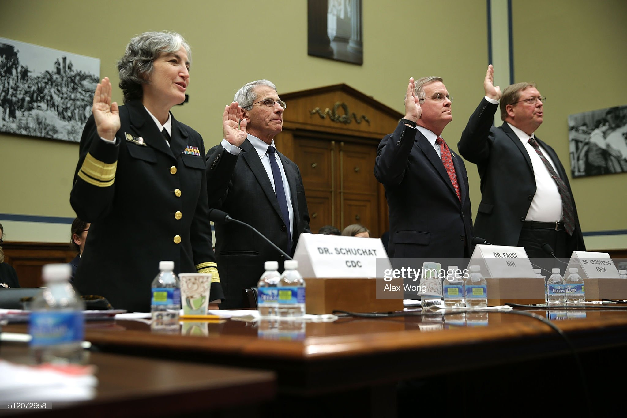 House Holds Hearing On U.S. Response To Zika Virus Epidemic : News Photo