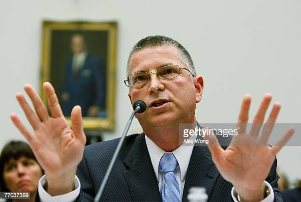 Principal Deputy Under Secretary of Defense Michael Dominguez testifies during a hearing before the National Security and Foreign Affairs...
