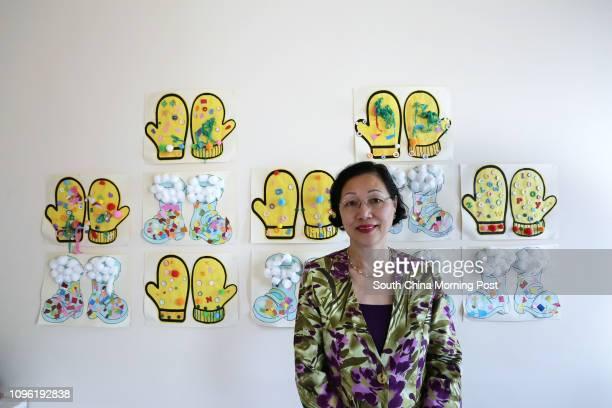 Principal Mary Tong Siufun President of the Hong Kong Kindergarten Association at Piccolo Monte International Kindergarten in Kowloon Tong 06MAY16...