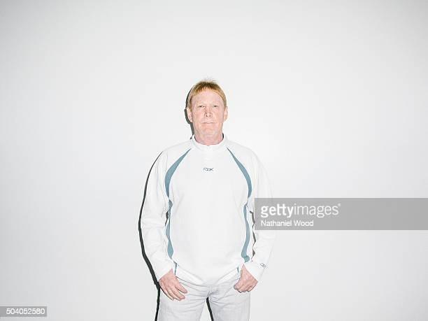 Principal owner and managing general partner of the Oakland Raiders of the National Football League Mark Davis is photographed for ESPN The Magazine...