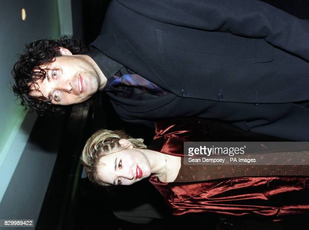 Principal stars of 'The Woodlanders' Emely Woof and Rufus Sewell arrive at the Curzon West End Cinema in London this evening for the films premiere...