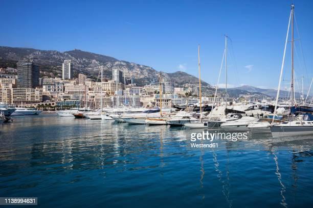 principality of monaco, monaco, monte carlo, marina - monte carlo stock pictures, royalty-free photos & images