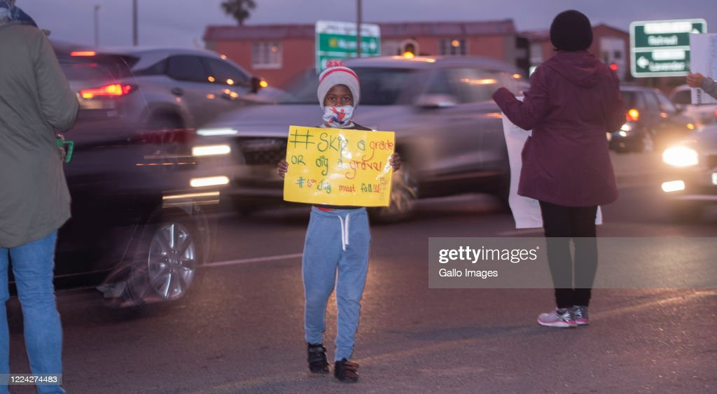 Principals Teachers And Learners Picket Along The M5 To Protest News Photo Getty Images