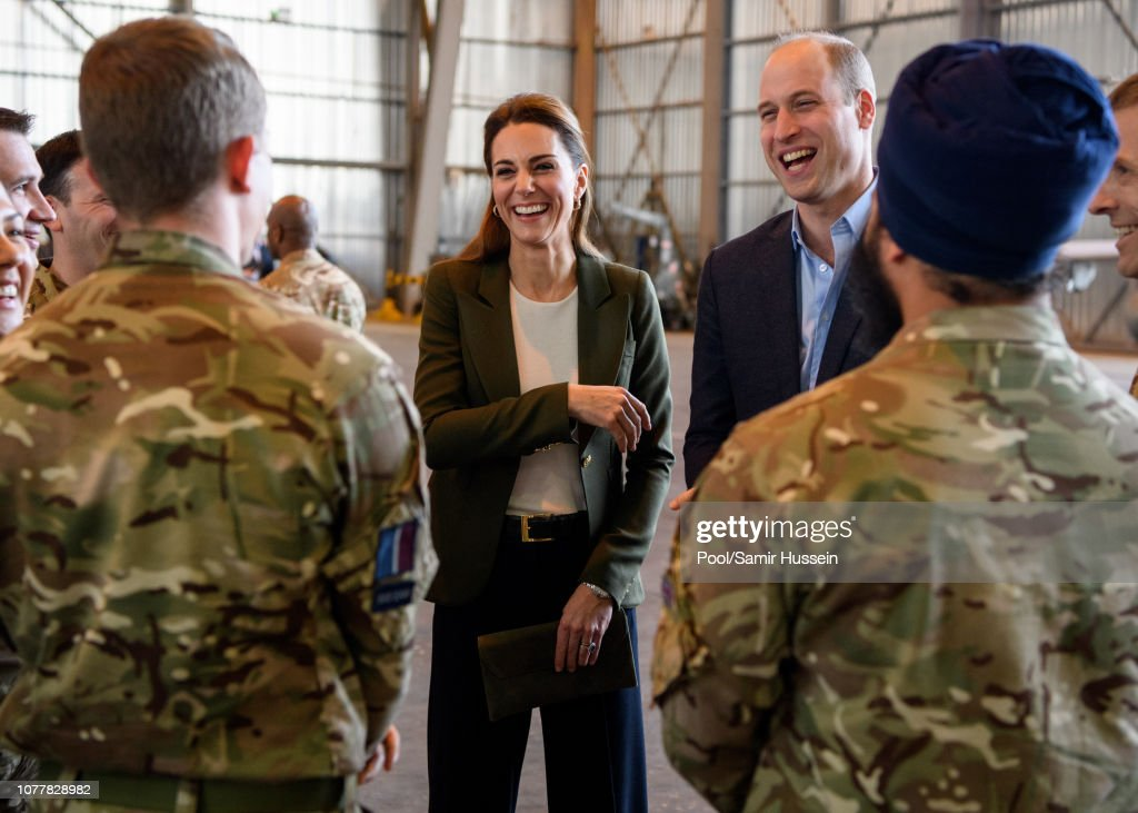 The Duke & Duchess Of Cambridge Visit Cyprus : Nachrichtenfoto