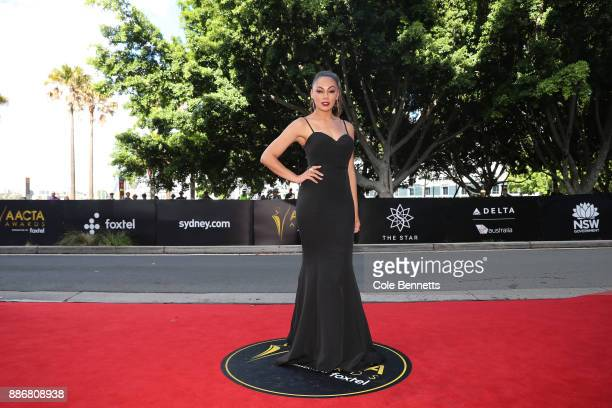 Prinnie Stevens attends the 7th AACTA Awards Presented by Foxtel | Ceremony at The Star on December 6 2017 in Sydney Australia