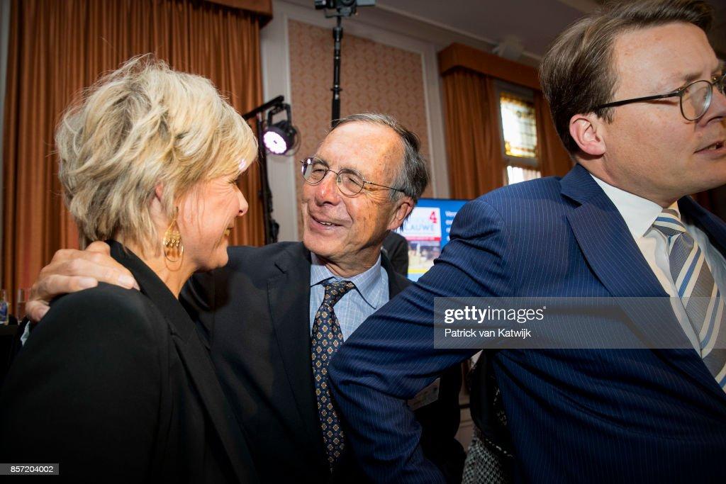 Princess Laurentien Receives Award As Most Influential Philanthropist in The Hague : Nachrichtenfoto