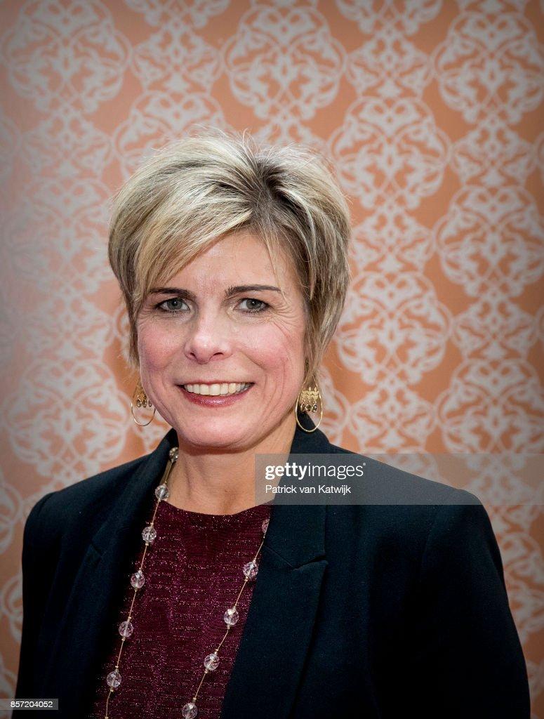 Princess Laurentien Receives Award As Most Influential Philanthropist in The Hague : News Photo