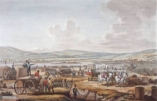 Print Depicting Napoleon After the Seige of Danzig