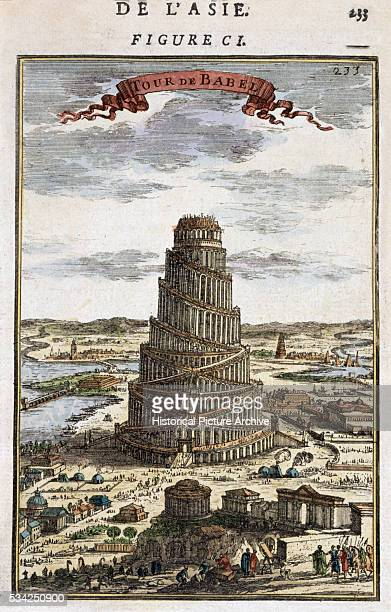 Print of the Tower of Babel