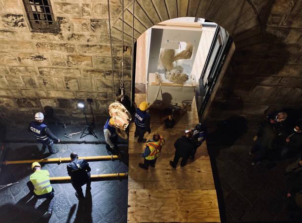 ITA: 3D Print Reproduction Of Michelangelo's David Leaves For Dubai Expo 2020