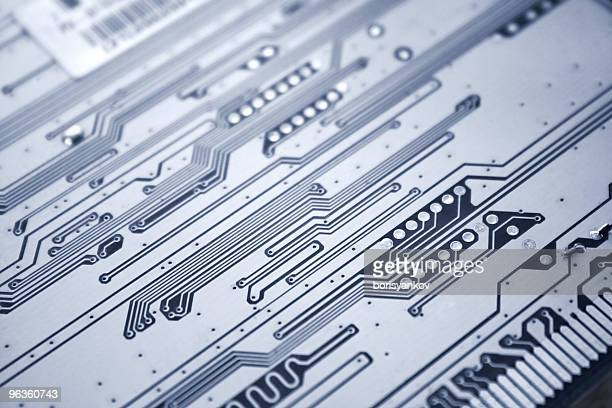 Printed circuit board close-up