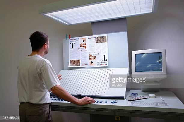 Printer controlling printing process