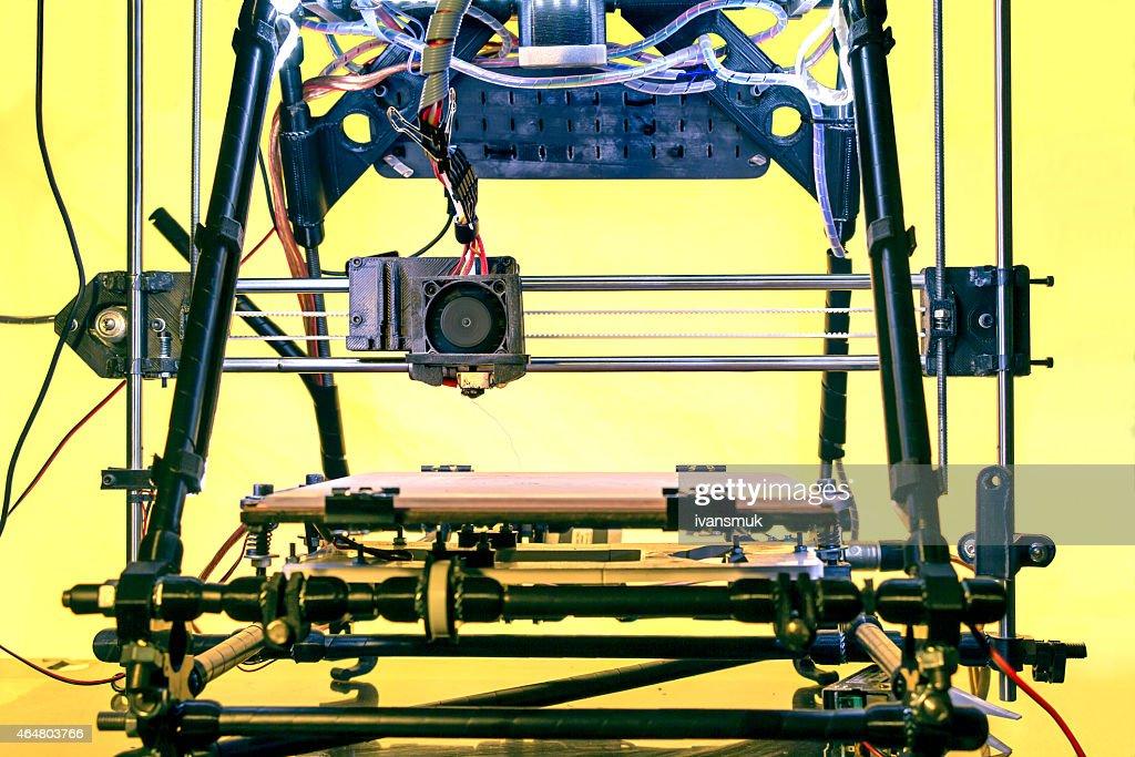 3D Printer : Stock Photo