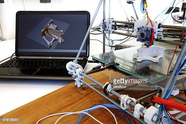 3D printer with computer