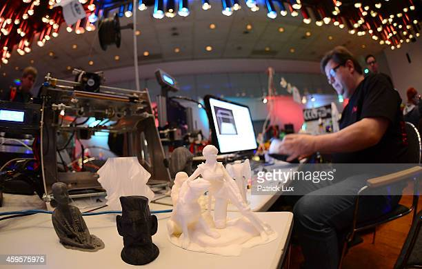 3D printers are on display at the annual Chaos Communication Congress on December 28 2013 in Hamburg Germany A strong topic of discussion this year...