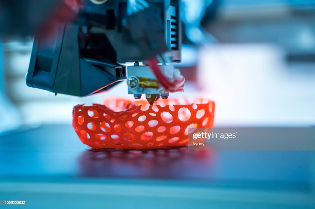 3D Printing Machine : Stock Photo
