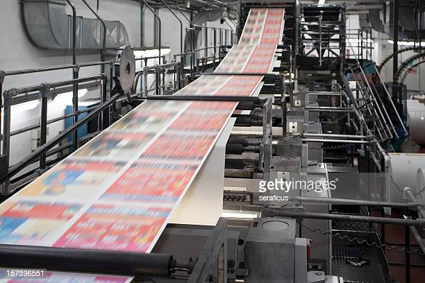 Printing newspapers