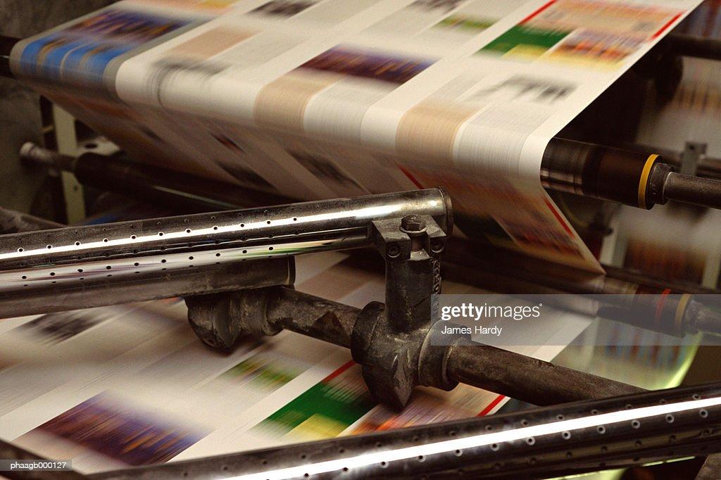 Printing press : Stockfoto